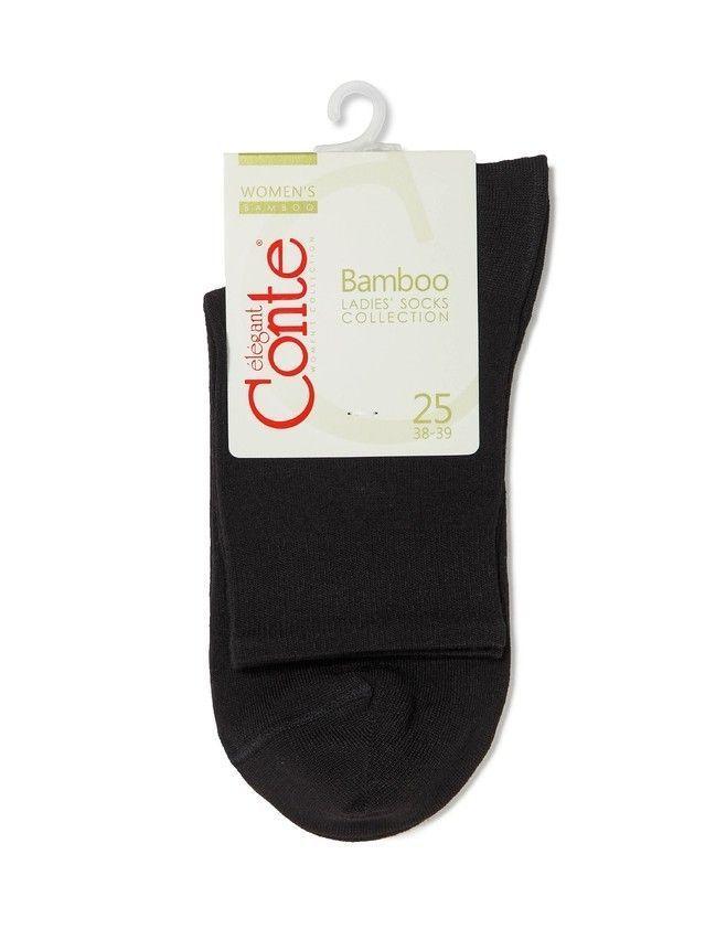Носки вискозные женские BAMBOO 13С-84СП, р. 36-37, черный, рис. 000 - 3