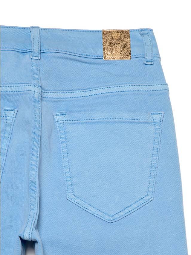 Джинсы skinny с высокой посадкой CON-237, р.170-102, washed lavander blue - 8