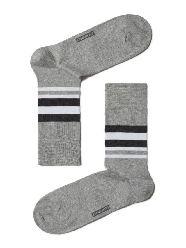 Носки мужские COMFORT (меланж) 7С-26СП, р. 42-43, серый, рис. 041 - 1