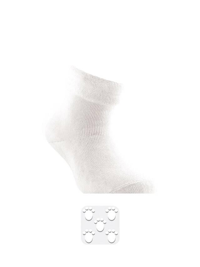 Носки хлопковые детские SOF-TIKI (махровые с отворотом, антискользящие) 7С-62СП, p. 14, белый, рис. 000 - 1