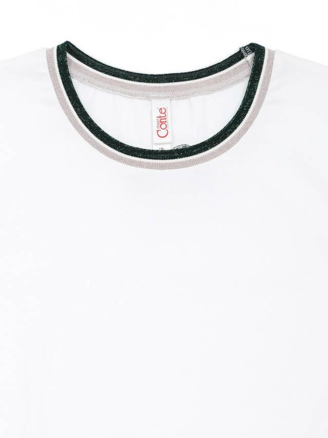 Футболка LD 1107, р.170-100, white - 5