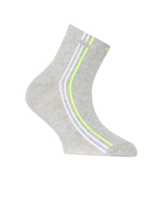 Носки хлопковые детские ACTIVE 7С-97СП, p. 20, серый, рис. 136 - 1