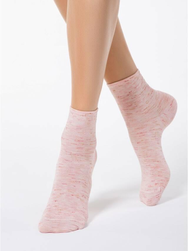 Носки вискозные женские COMFORT (меланж) 14С-115СП, р. 36-37, светло-розовый, рис. 000 - 1
