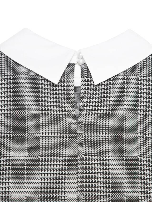 Платье LPL 1052, р.164-84-90, grey-ivory check - 7