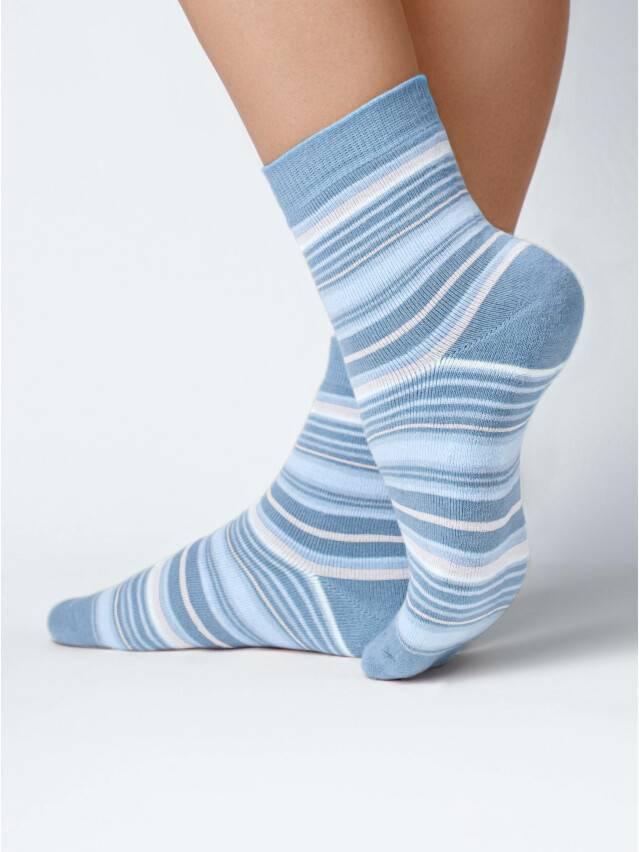 Носки хлопковые женские COMFORT (махровые) 7С-47СП, р. 36-37, голубой, рис. 024 - 1