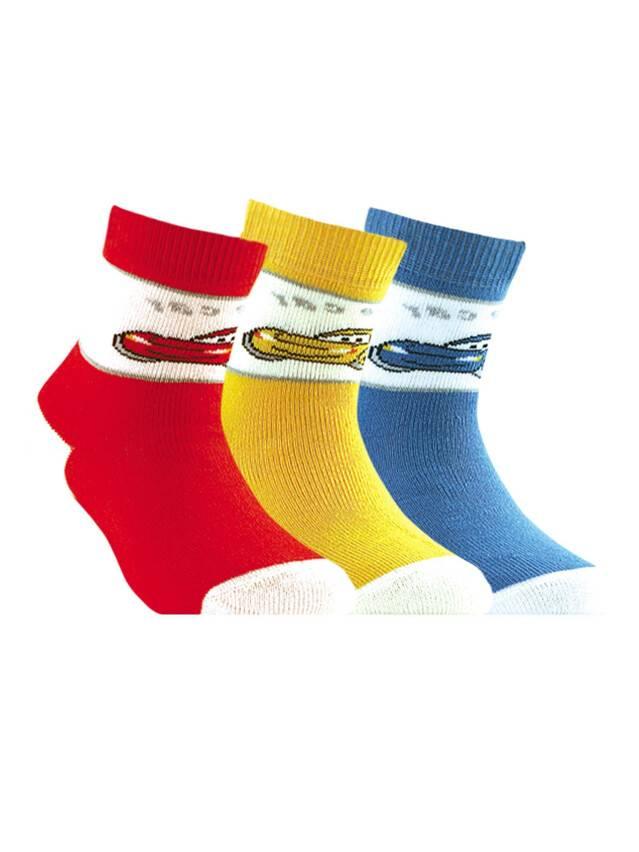 Носки хлопковые детские SOF-TIKI (махровые) 7С-46СП, p. 14, желтый, рис. 095 - 1