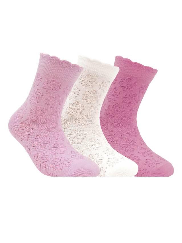 Носки хлопковые детские BRAVO (жаккардовые) 14С-13СП, p. 18, светло-розовый, рис. 186 - 1