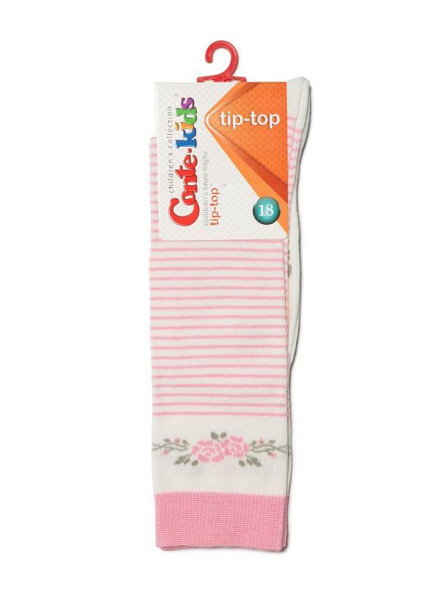 Гольфы хлопковые детские TIP-TOP 7С-21СП, p. 18, молочный-розовый, рис. 038 - 2