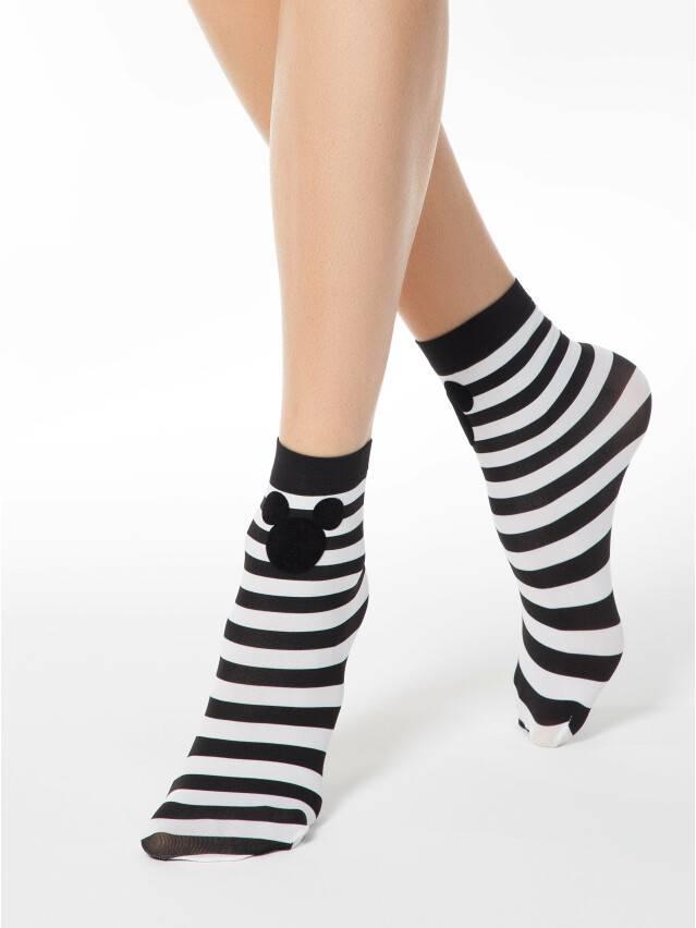 Носки женские ©Disney 18С-233СПМ, р. 36-39, bianco-nero - 1