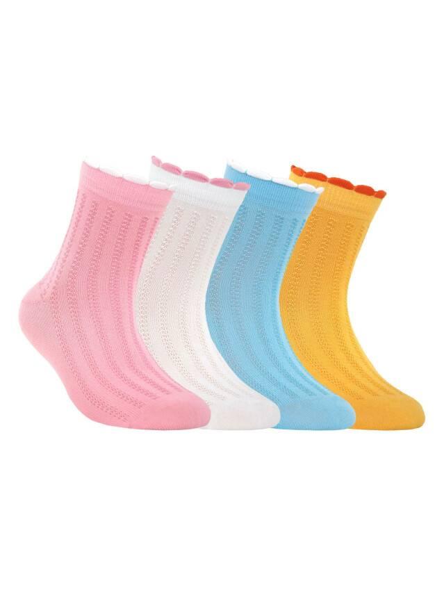 Носки хлопковые детские TIP-TOP (пикот) 7С-28СП, p. 16, желтый, рис. 143 - 1