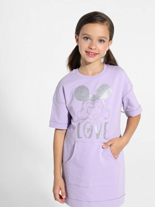 Туника для девочек ©Disney DTH 956, р.128,134-68, blooming lilac - 1