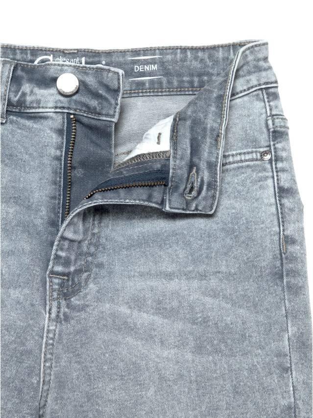 Джинсы skinny с супервысокой посадкой CON-216, р.170-102, acid washed grey - 7