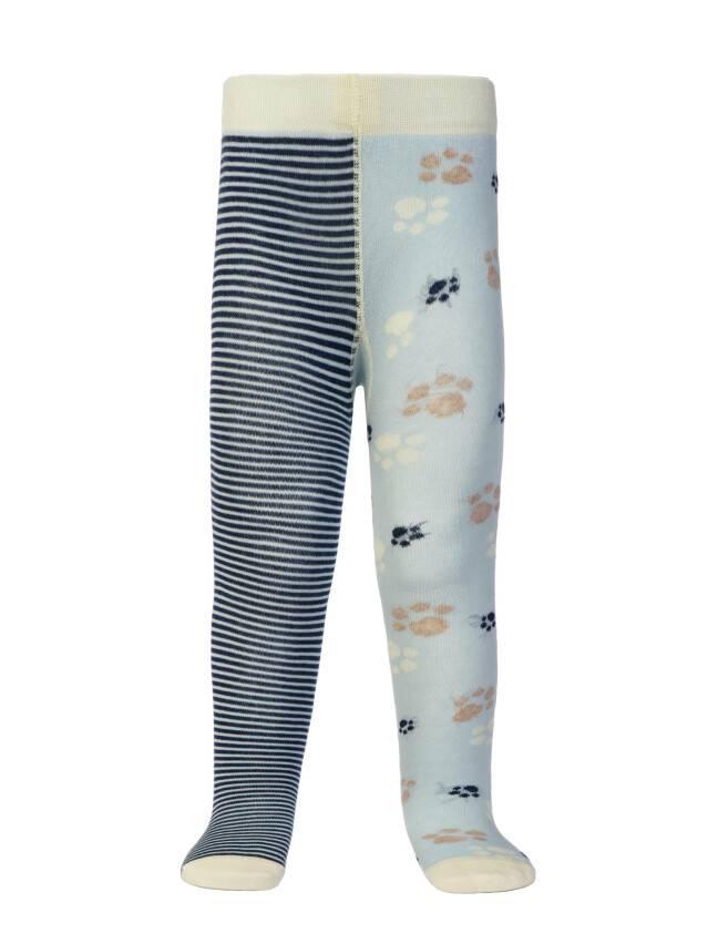Колготки хлопковые детские TIP-TOP (веселые ножки) 14С-79СП, p. 62-74, светло-голубой-темно-синий, рис. 356 - 2