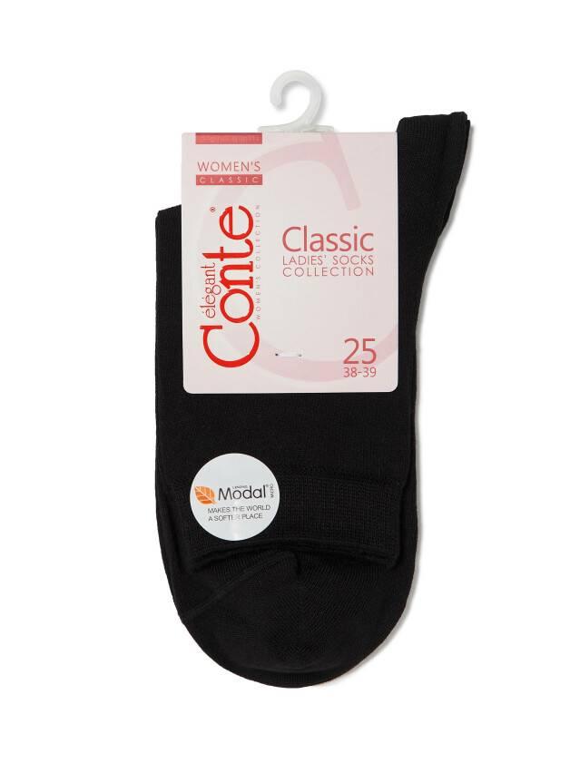 Носки вискозные женские CLASSIC (микромодал) 13С-64СП, р. 36-37, черный, рис. 000 - 3