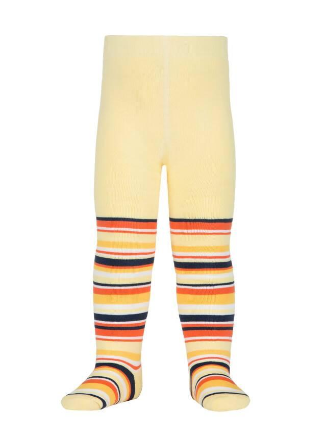 Колготки хлопковые детские SOF-TIKI (махровые внутри) 7С-38СП, p. 80-86, светло-желтый, рис. 223 - 1