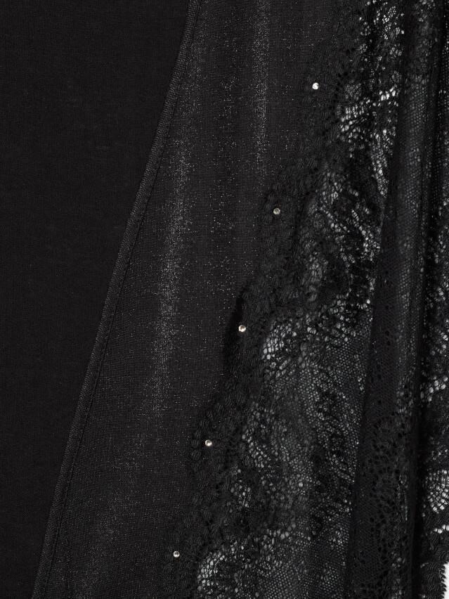 Халат женский Swarovski® LHW 1086, р.170-84-90, royal black - 5