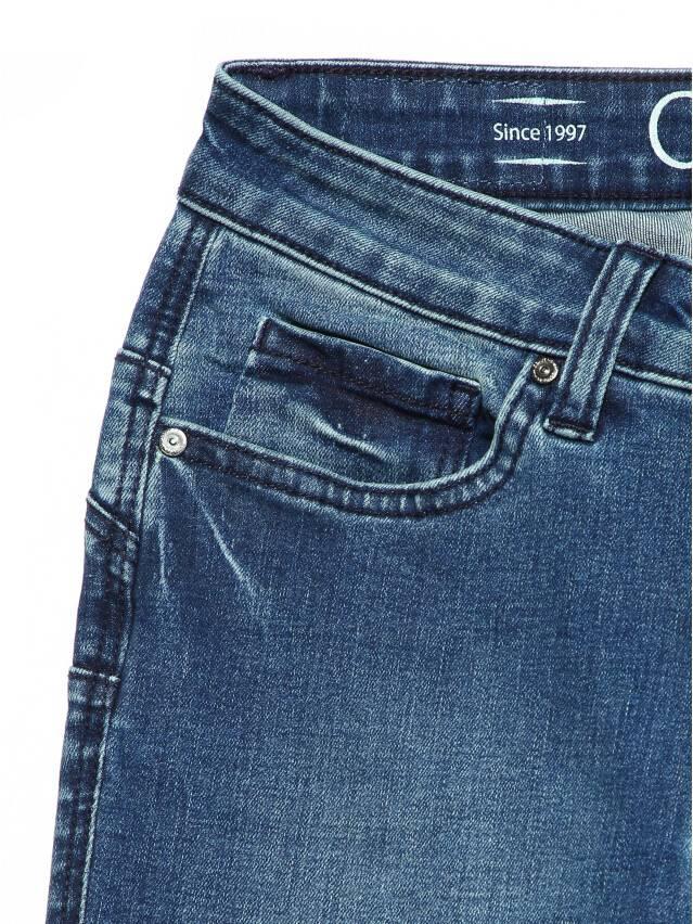 Джинсы skinny с высокой посадкой CON-144, р.170-102, dusty blue - 5