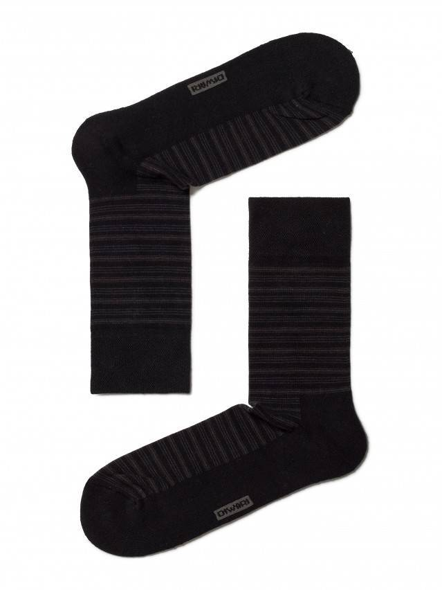 Носки мужские COMFORT (махровая стопа) 6С-18СП, р. 40-41, черный, рис. 012 - 1