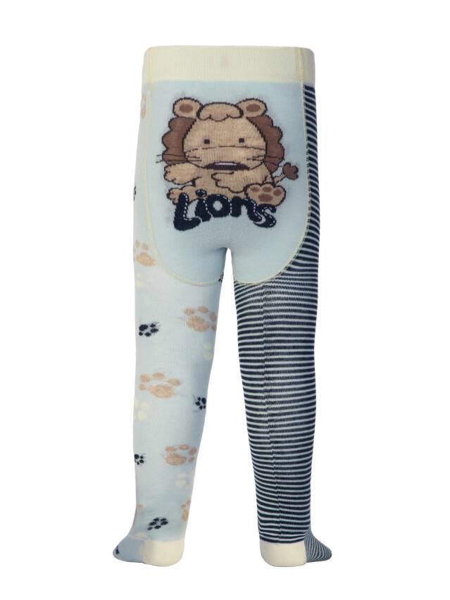 Колготки хлопковые детские TIP-TOP (веселые ножки) 14С-79СП, p. 62-74, светло-голубой-темно-синий, рис. 356 - 1