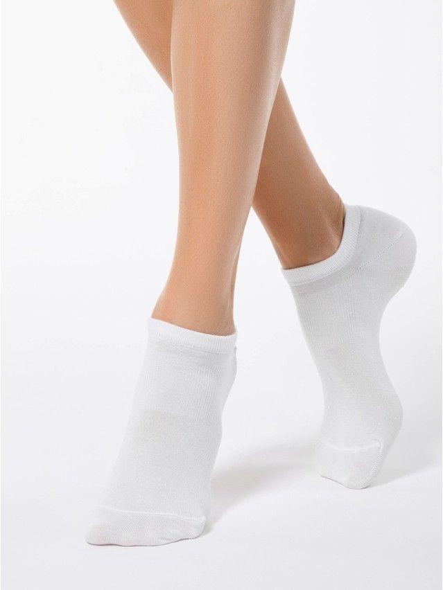 Носки вискозные женские ACTIVE (короткие, tencel) 15С-77СП, р. 36-37, белый, рис. 079 - 1