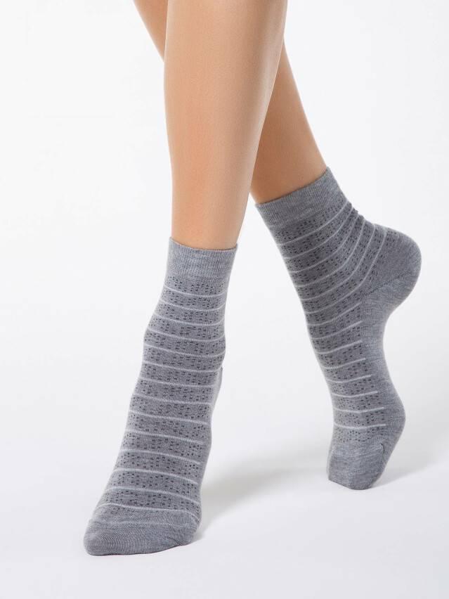 Носки вискозные женские COMFORT (кашемир) 14С-66СП, р. 36-37, серый, рис. 047 - 1