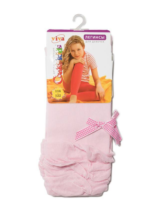 Леггинсы для девочек VIVA (декор) 12С-15СП, p. 104-110, светло-розовый, рис. 000 - 2