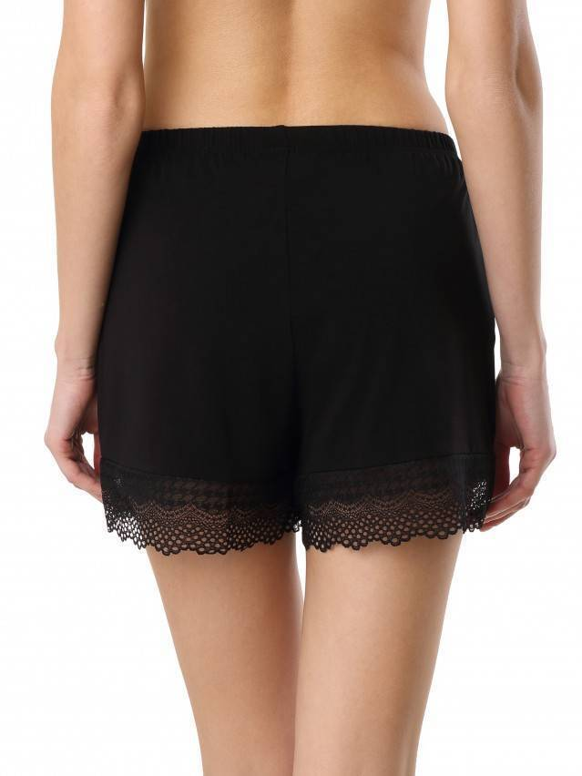 Women's shorts for home COMFORT LOUNGEWEAR LHW 990, s.170-90, black - 2