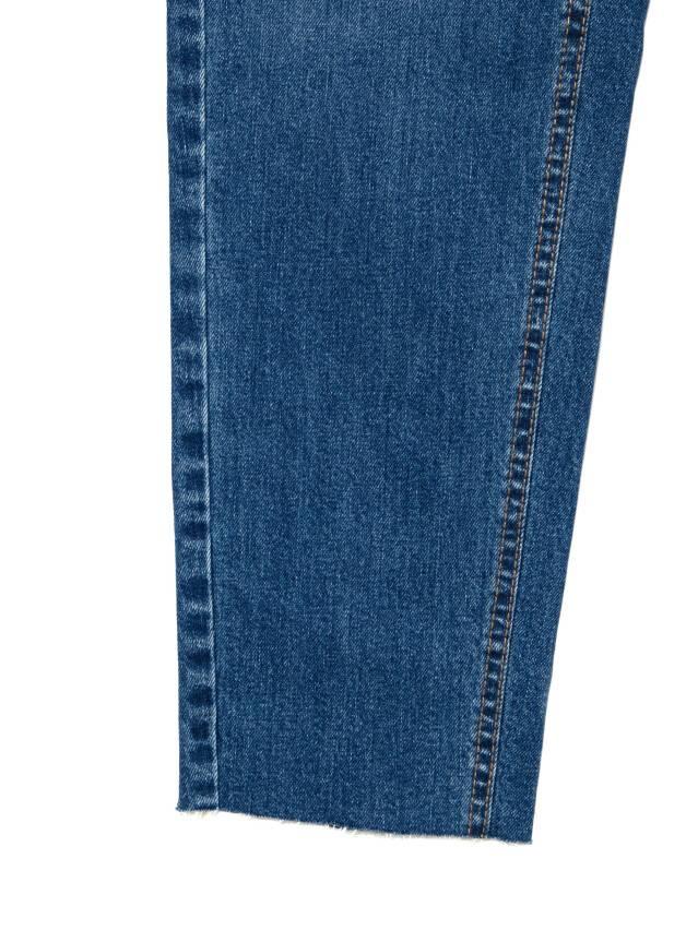 Джинсы Mom Fit с высокой посадкой CON-189, р.170-102, mid blue - 9