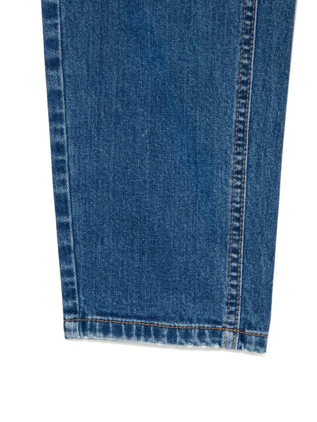 Джинсы Mom Fit с высокой посадкой CON-187, р.170-102, mid blue - 8