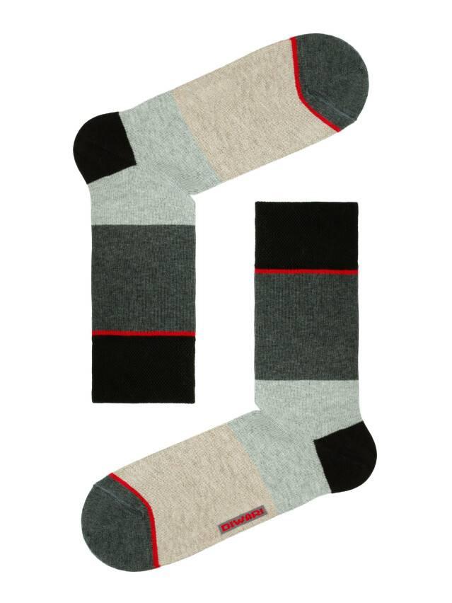 Носки мужские HAPPY (с рисунком) 15С-23СП, р. 40-41, темно-серый-бордо, рис. 033 - 1