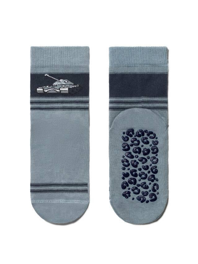 Носки хлопковые детские TIP-TOP (антискользящие) 7С-54СП, p. 16, серый, рис. 161 - 2
