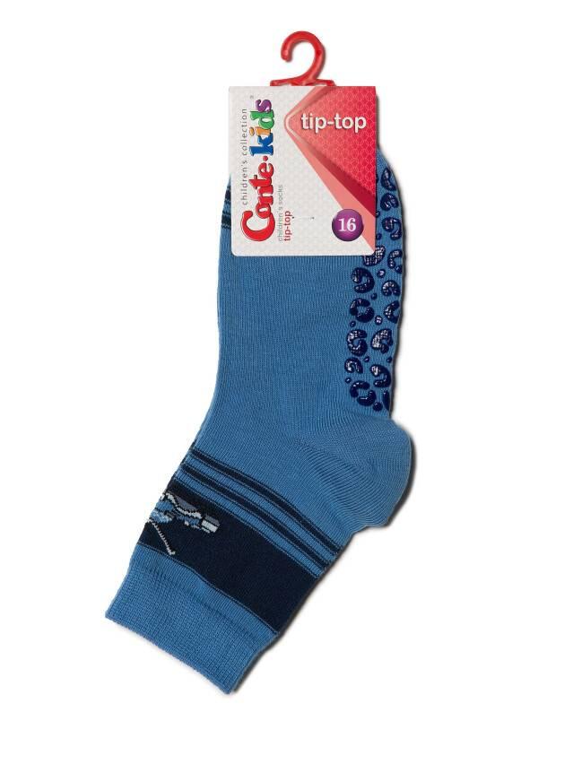 Носки хлопковые детские TIP-TOP (антискользящие) 7С-54СП, p. 16, темно-голубой, рис. 161 - 3