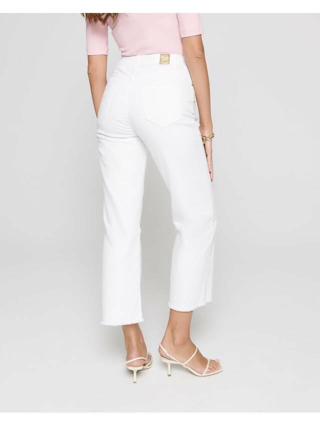 Джинсовые брюки с высокой посадкой CON-243, р.170-102, white - 3