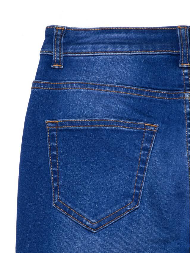 Джинсы skinny с высокой посадкой CON-217, р.170-102, washed royal blue - 8
