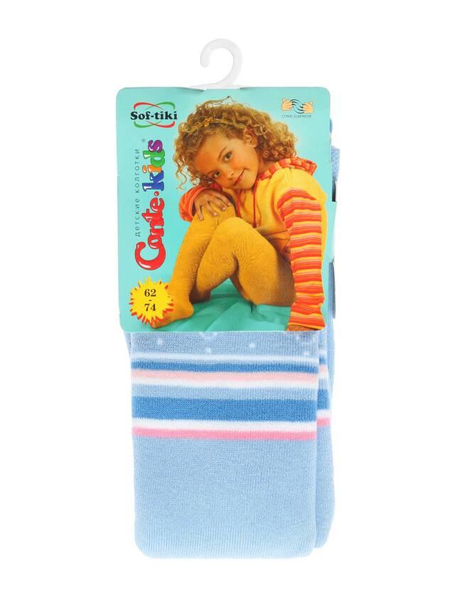 Колготки хлопковые детские SOF-TIKI (махровые внутри) 7С-38СП, p. 62-74, голубой, рис. 235 - 1