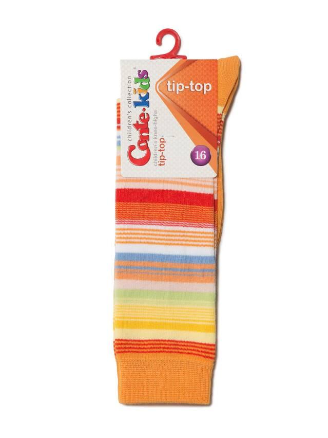 Гольфы хлопковые детские TIP-TOP 7С-21СП, p. 16, оранжевый, рис. 024 - 2