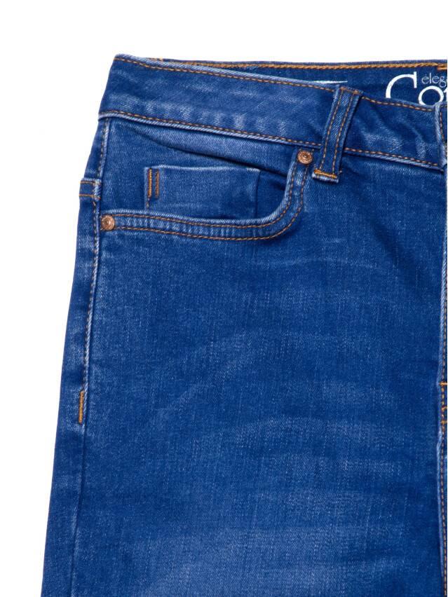 Джинсы skinny с высокой посадкой CON-217, р.170-102, washed royal blue - 6