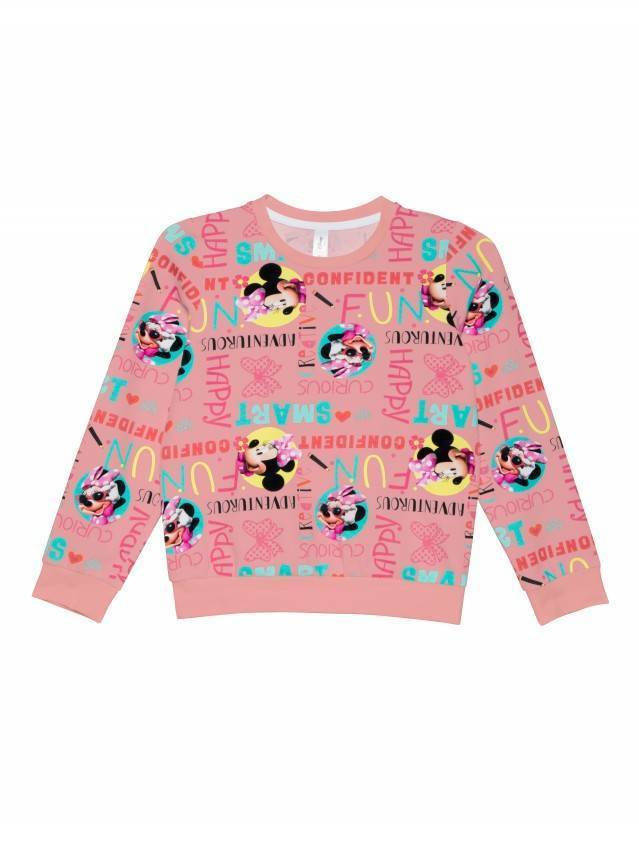 Джемпер для девочек ©Disney DD 968, р.98,104-52, pink fun - 3