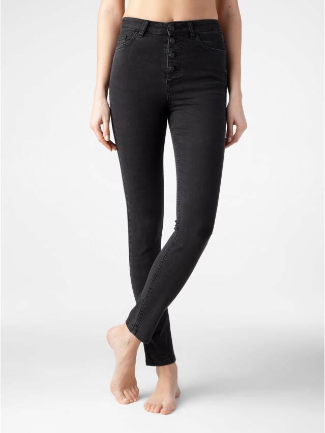 Брюки джинсовые женские CE CON-286, р.170-102, washed black - 1