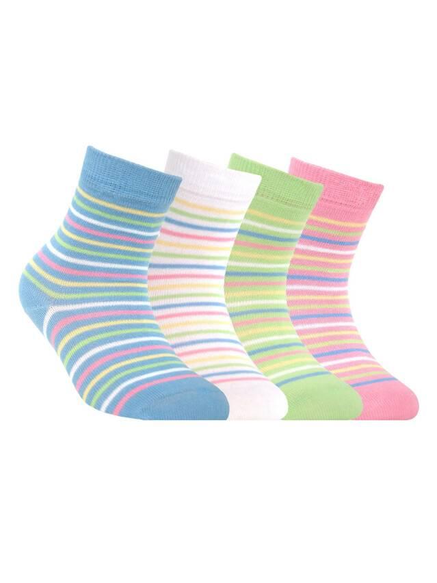 Носки хлопковые детские TIP-TOP 5С-11СП, p. 12, светло-зеленый, рис. 076 - 1