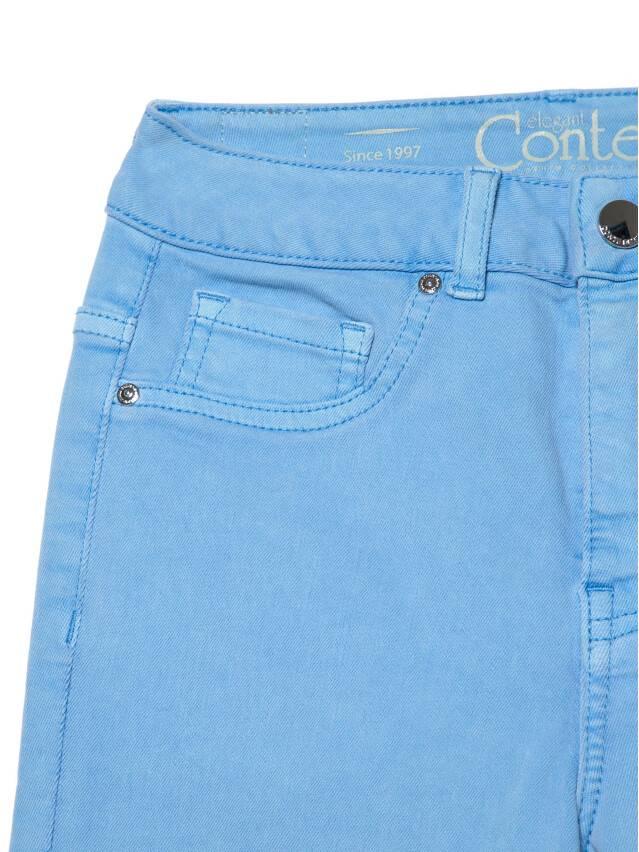 Джинсы skinny с высокой посадкой CON-237, р.170-102, washed lavander blue - 6