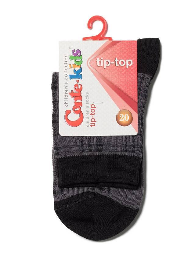 Носки хлопковые детские TIP-TOP 5С-11СП, p. 20, темно-серый, рис. 196 - 2