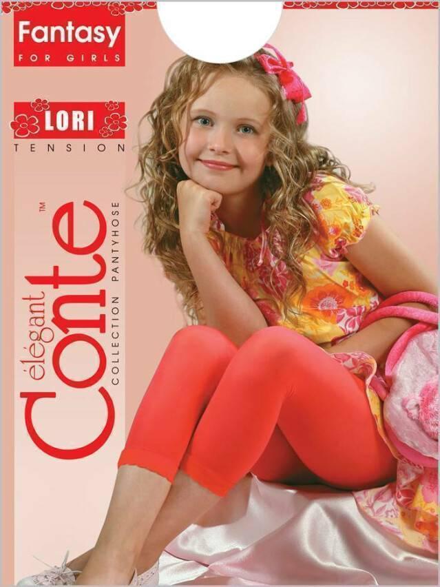 Леггинсы для девочек LORI 8С-110СП, p. 104-110, bianco - 1