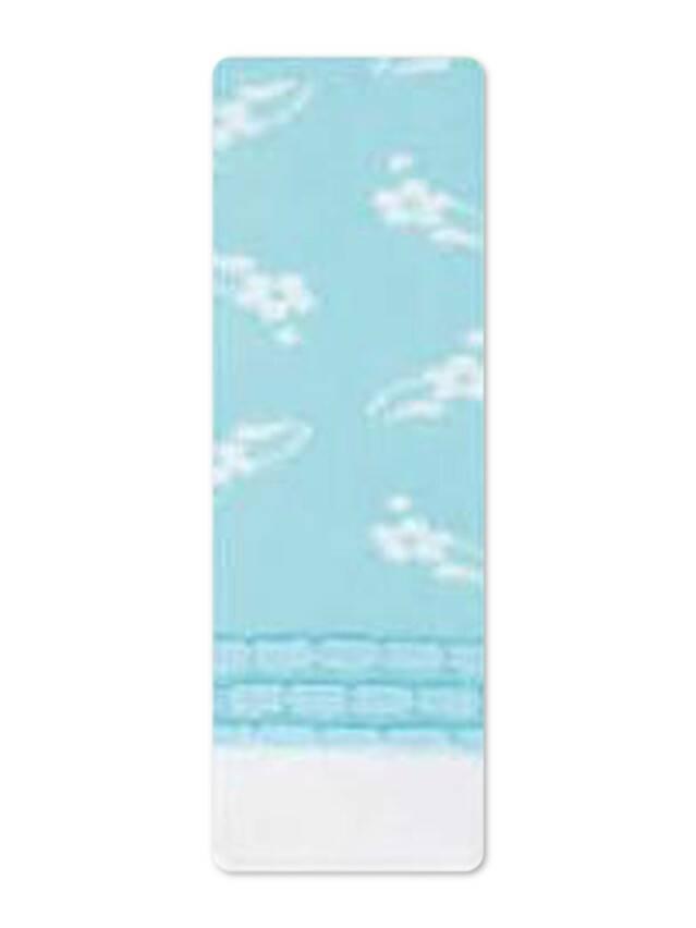 Колготки хлопковые детские TIP-TOP (пикот) 7С-73СП, p. 92-98, светло-голубой, рис. 247 - 1