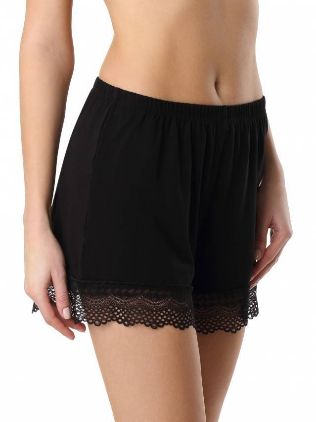 Women's shorts for home COMFORT LOUNGEWEAR LHW 990, s.170-90, black - 1