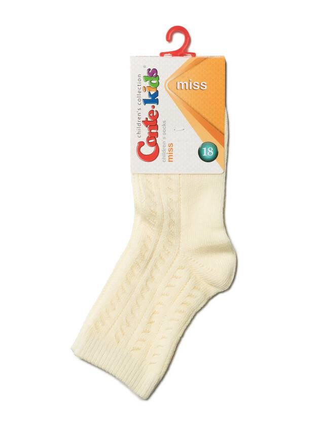 Носки хлопковые детские MISS (ажурные) 7С-76СП, p. 16, кремовый, рис. 115 - 2