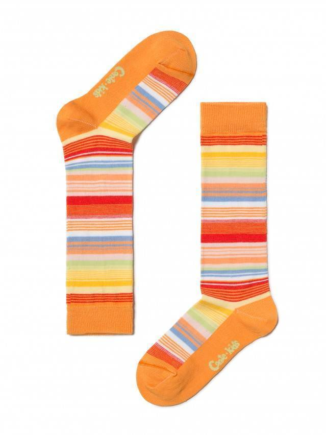 Гольфы хлопковые детские TIP-TOP 7С-21СП, p. 16, оранжевый, рис. 024 - 1