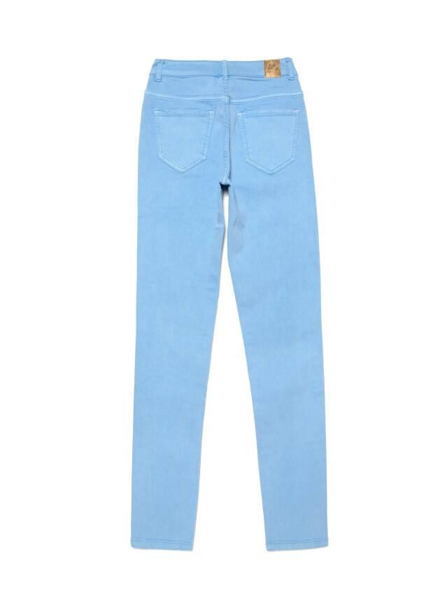 Джинсы skinny с высокой посадкой CON-237, р.170-102, washed lavander blue - 5