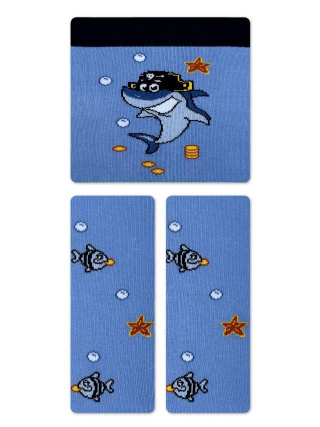 Колготки хлопковые детские TIP-TOP 4С-01СП, p. 62-74, голубой, рис. 379 - 1