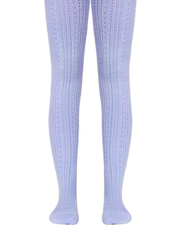 Колготки хлопковые детские MISS (ажурные) 7С-80СП, p. 104-110, бледно-фиолетовый, рис. 270 - 1